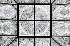 Метка окна в крыше с нашивками Стоковые Фото
