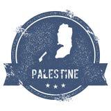 Метка Палестины иллюстрация вектора