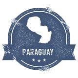 Метка Парагвая иллюстрация вектора
