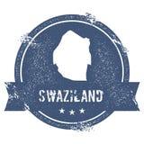 Метка Свазиленда иллюстрация штока