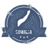 Метка Сомали иллюстрация штока