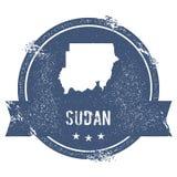 Метка Судана бесплатная иллюстрация