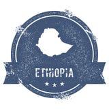 Метка Эфиопии иллюстрация штока