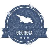Метка Georgia иллюстрация штока