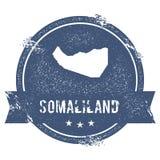 Метка Somaliland иллюстрация вектора