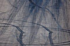 Метки закрутки колеса Стоковое Изображение
