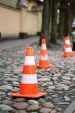 Метки дороги Стоковая Фотография