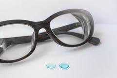 Методы коррекции зрения Стоковое Фото