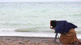 метод принимать изображений съемки фотографа сток-видео