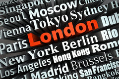 метрополия london Стоковые Изображения