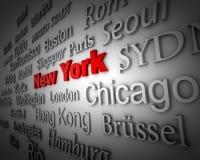 метрополия New York Стоковые Фотографии RF