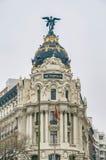 метрополия Испания madrid здания стоковое фото rf