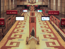 Метро Буэноса-Айрес (станция) стоковая фотография rf