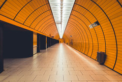Метро в Мюнхене Стоковые Фото