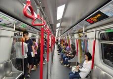Метро Гонконга Стоковая Фотография