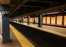 Метро Нью-Йорка, США стоковые фото