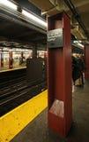 Метро Нью-Йорка, США Стоковое Изображение RF