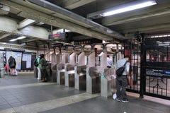 Метро Нью-Йорка Стоковое Изображение