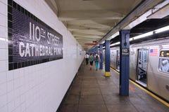 Метро Нью-Йорка Стоковая Фотография RF