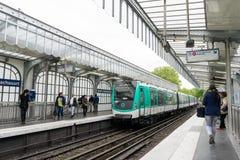 Метро Парижа Стоковые Изображения