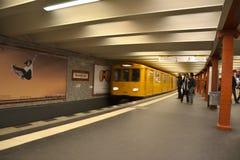 метро alexanderplatz Стоковые Изображения