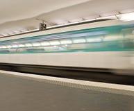 метро paris Стоковое Фото