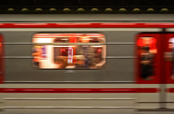 метро prague Стоковое фото RF
