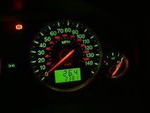 метр автомобиля Стоковые Изображения RF