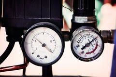 Метр давления стоковые изображения rf
