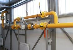Метр газа Стоковые Фотографии RF
