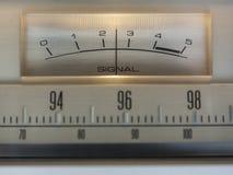Метр сигнала Стоковое Изображение RF