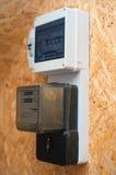 Метр электричества Стоковые Фотографии RF