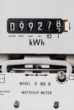 Метр электричества Стоковое Фото
