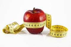 метр яблока Стоковые Фотографии RF