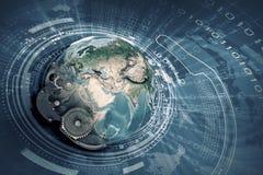 Механизмы нашей планеты Стоковые Фото