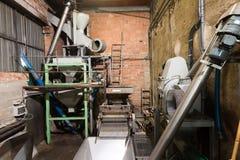 Механизмы для обрабатывать оливкового масла стоковые фото