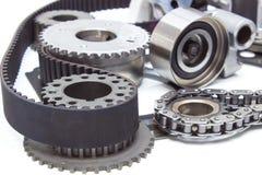 механизм времени двигателя двигателя цепь, пояс, звезда, шестерня, Стоковые Фото