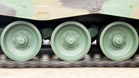 Механизм колеса танков Moving Стоковое Изображение RF