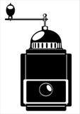Механизм настройки радиопеленгатора вектора изолированный на белизне Стоковое Фото