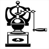Механизм настройки радиопеленгатора вектора изолированный на белизне Стоковое Изображение