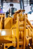 Механизм поднимать ведро, конец затяжелителя ведра колеса вверх стоковая фотография