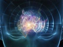 Механизм разума Стоковые Изображения