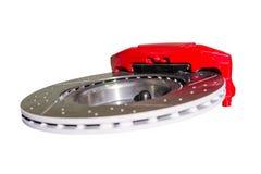 Механизм тормозной системы тарельчатых тормозов автомобиля Стоковое Изображение RF