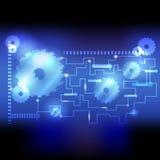 Механизм флуоресцирования предпосылки jpg Стоковые Фото