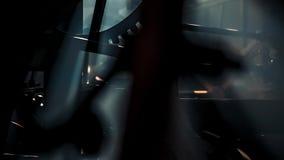 Механизм часов башни сток-видео