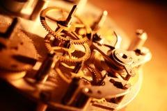 механизм часов старый Стоковое фото RF