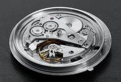 Механизм часов с шестернями Стоковое фото RF