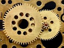 механизм шестерен старый Стоковое Изображение