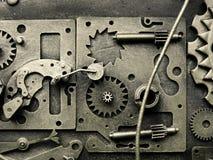механизм шестерен старый Стоковое Фото