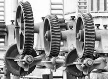 Механизм шестерней червя стоковые фотографии rf